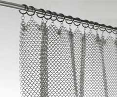 chainmail fire curtain
